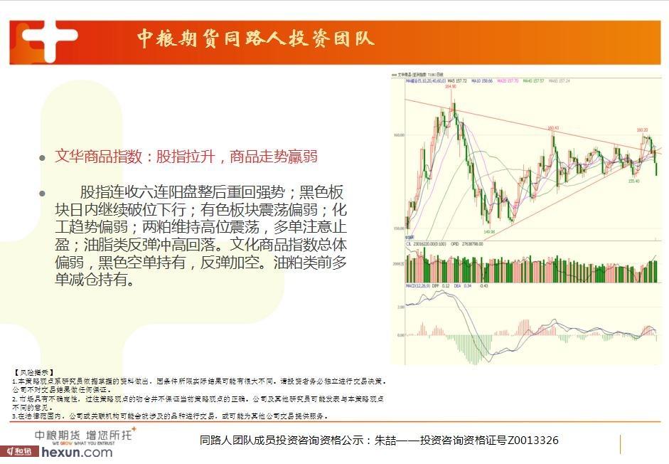 同路人投资团队:3月9日期货高清图