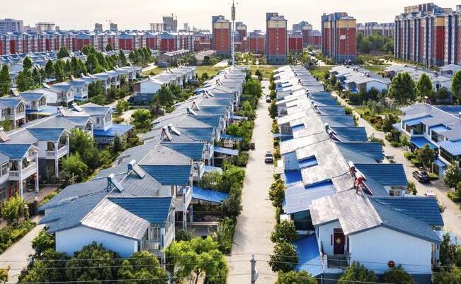 我國最大別墅村,30多個村莊合并,六萬農民入住