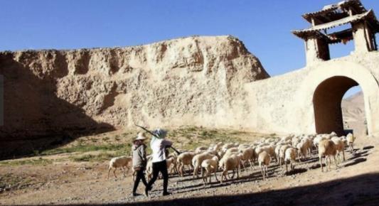 建在荒漠中的古城 本是奇迹没想到却傲立400年